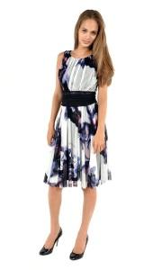 Elana Kattan print dress